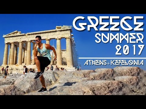 GREECE SUMMER 2017: ATHENS & KEFALONIA  // TRAVEL VLOG