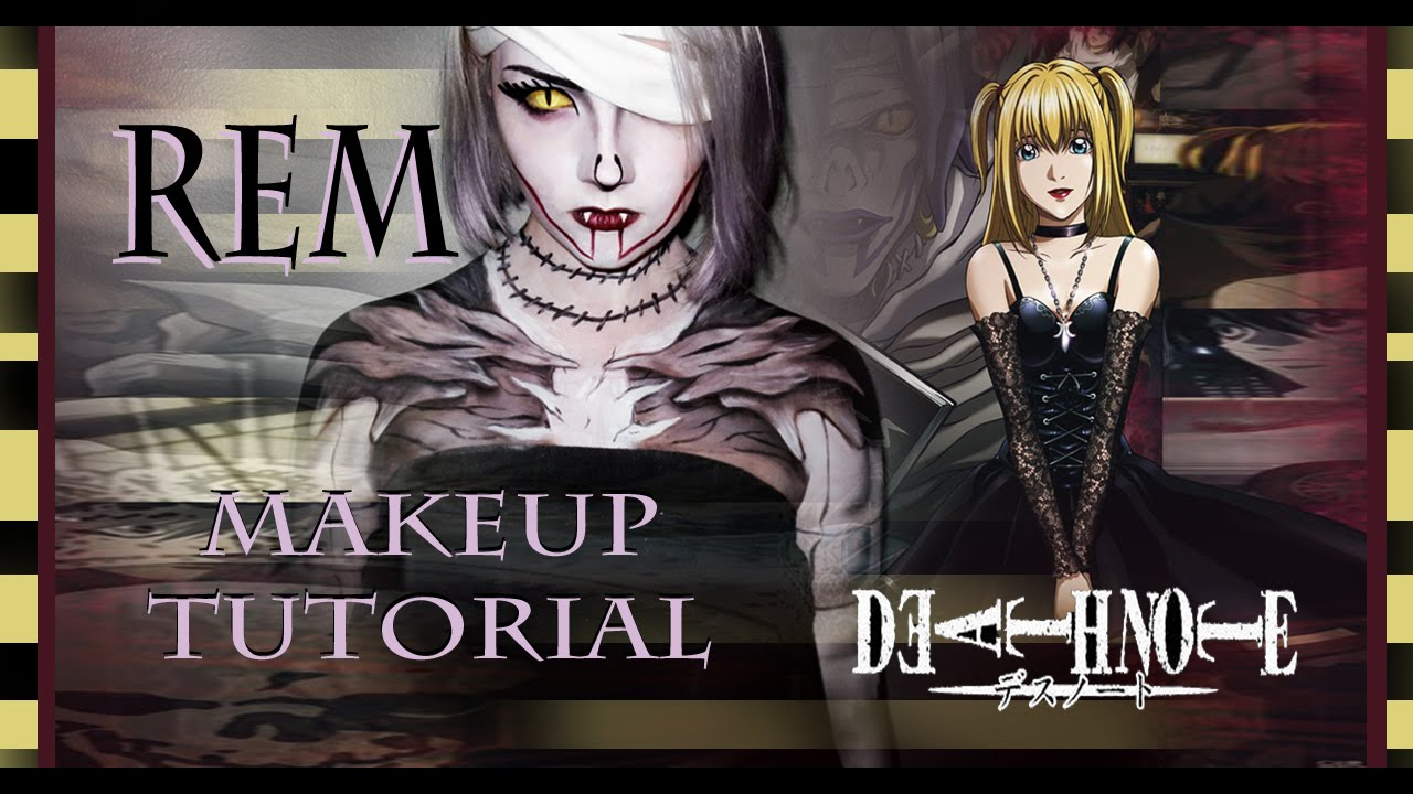 Rem Makeup Tutorial! (Death Note) - YouTube