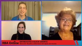 Entrevista a Alicia Saientz