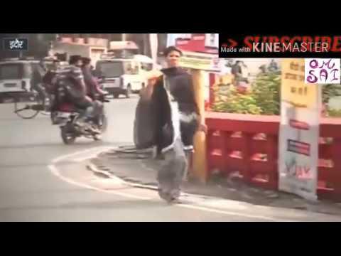Breaking News ||Indore (M.P.)|| DIG Office के सामने जलकर मरना चाहती थी ये लड़की