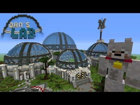 Minecraft Xbox Hide And Seek - DANTDM'S NEW LAB