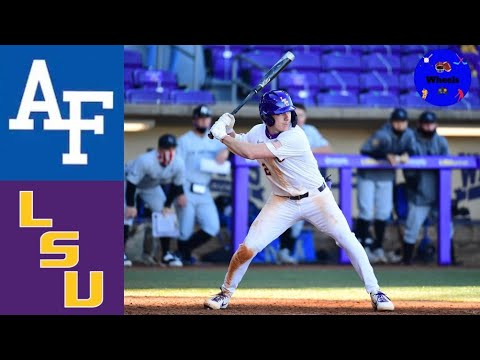 Download Air Force vs #12 LSU Highlights (Game 1) | 2021 College Baseball Highlights