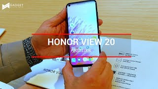 Honor View 20 First Look