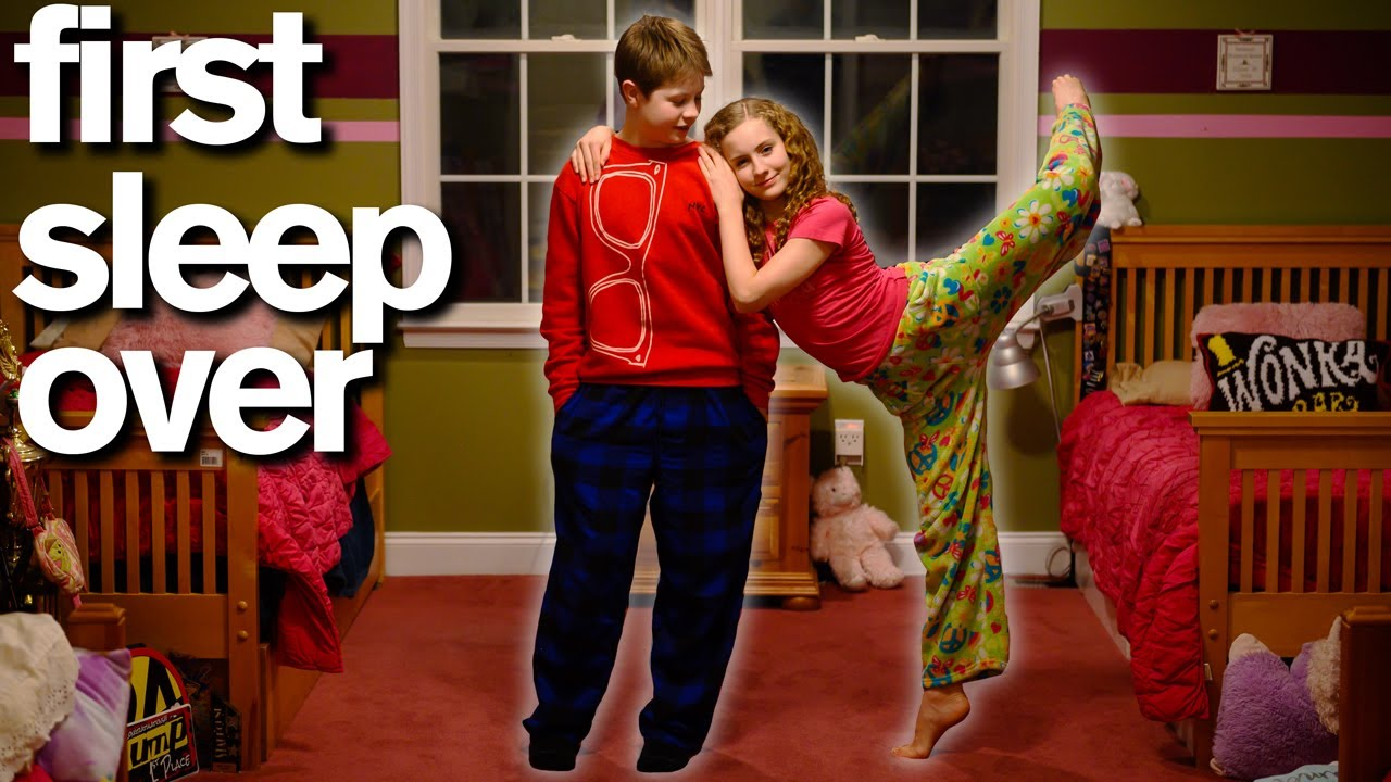 Download My Son's First Sleepover With His Crush *SWEET*