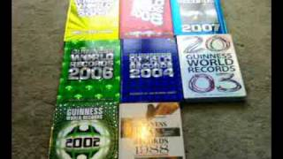 Guinness World Record Books Collection