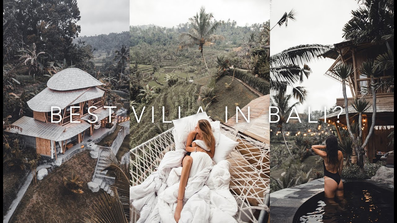 Most Amazing Bamboo Airbnb In Bali Famous Bed On Instagram Episode 7 Bali Series Ricgm Youtube
