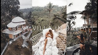 Gambar cover Most amazing Bamboo Airbnb in Bali (famous bed on instagram ) | EPISODE 7 | Bali Series | @RICGM