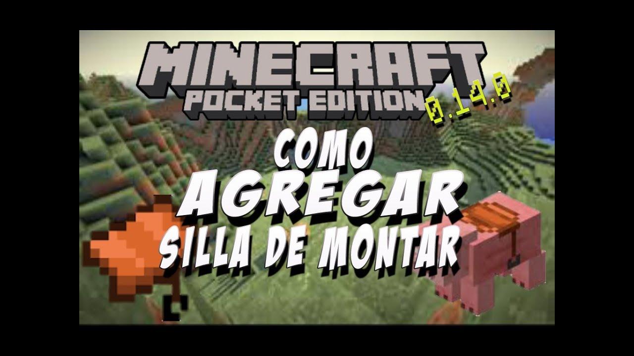 Como Agregar La Silla De Montar Minecraft Pe 014x Pocket
