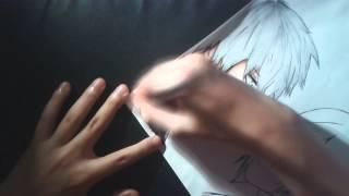 Speed Drawing Kaneki e touka (tokyo ghoul)