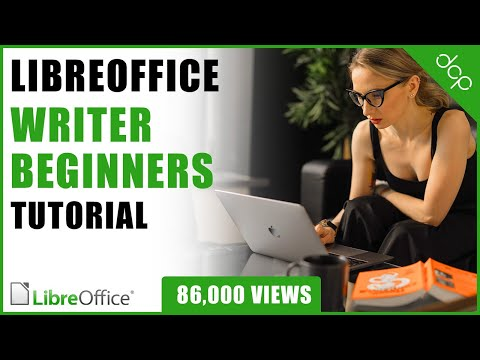 Libre Office Writer Beginners Tutorial - DCP Web Designers Tutorial