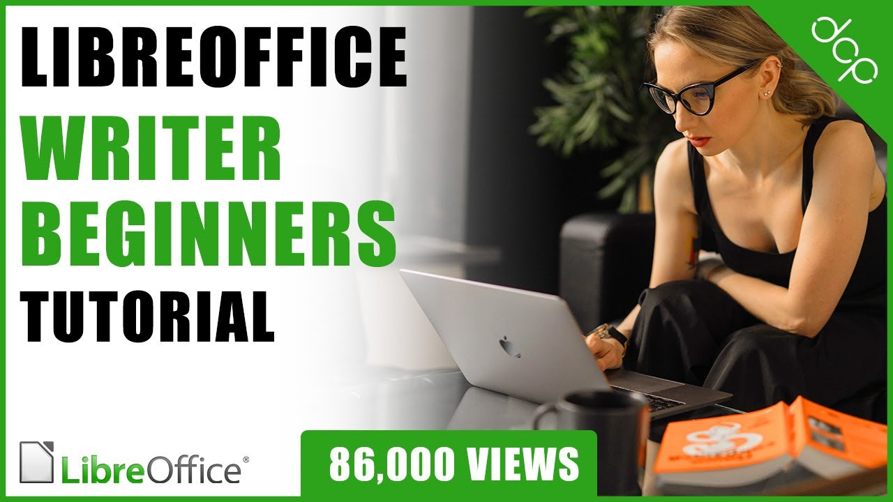 Editor Video Libre Libre Office Writer Beginners Tutorial Word Processing Tutorial