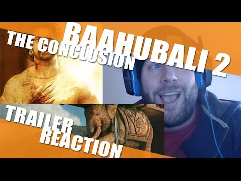 Baahubali 2 - The Conclusion Trailer Reaction - That Elephant Shot!