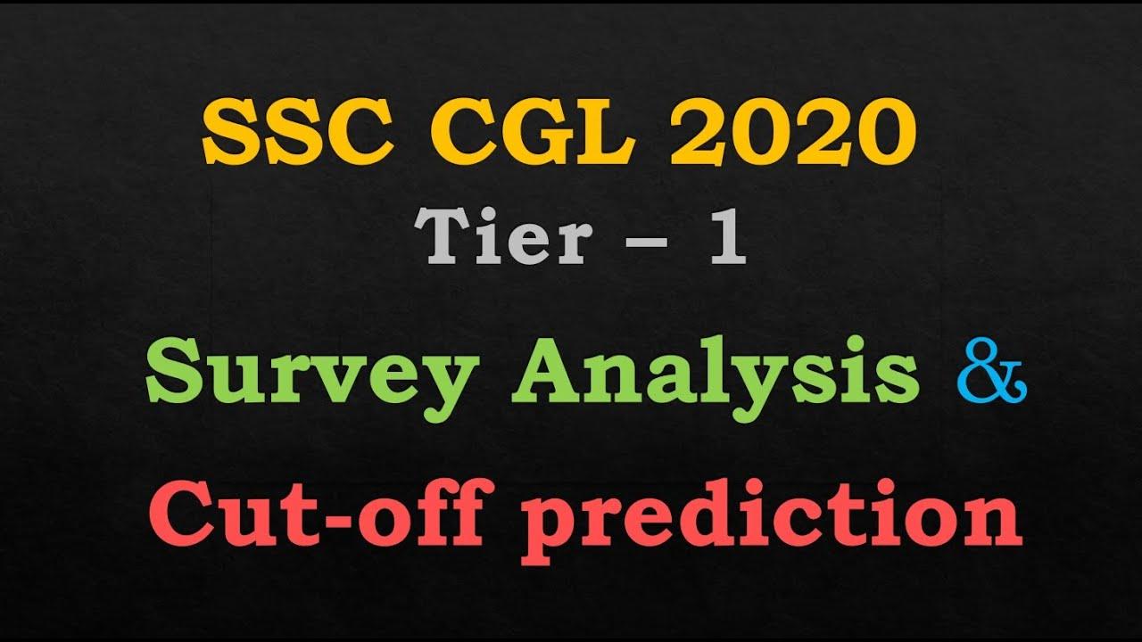 Download SSC CGL 2020 Tier 1 Qmaths Survey Analysis & Cutoff Prediction