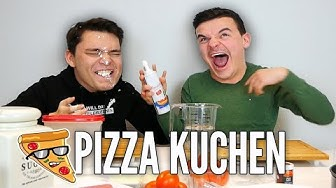 Tourette backt Pizza-Kuchen!