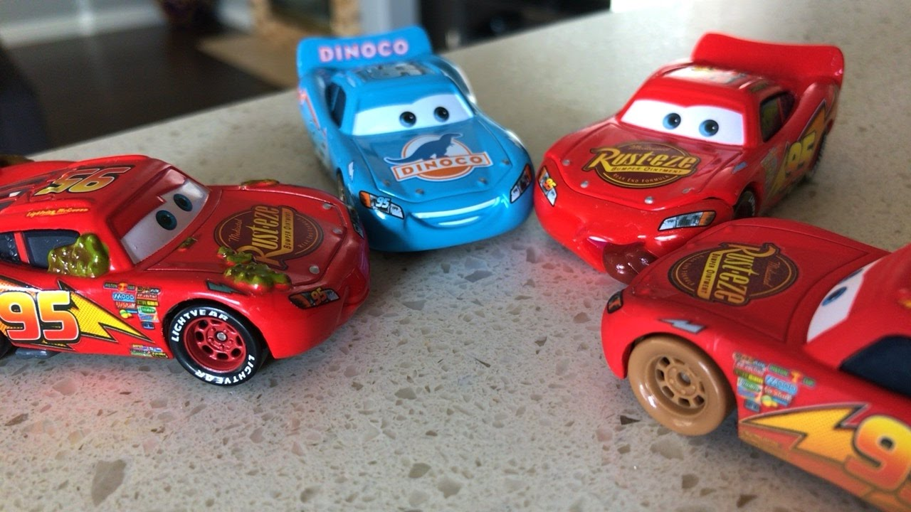 new disney cars 3 toys lightning mcqueen youtube. Black Bedroom Furniture Sets. Home Design Ideas