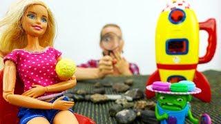 Приключения Барби на Луне - Мультики Барби