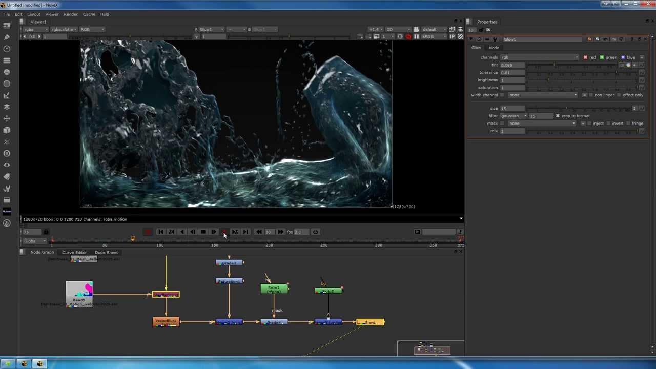 Tutorial: flooding an aquarium part 3 compositing the renders.