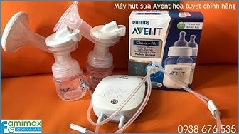 Máy hút sữa Avent hoa tuyết chính hãng bảo hành 2 năm