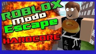 Roblox : Meu Primeiro Escape -[ Flood Escape ] ft. Misio et Léuplayer