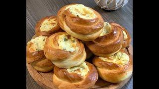 Ватрушки с сыром и яйцом с зеле ным луком в духовке рецепт Shorts