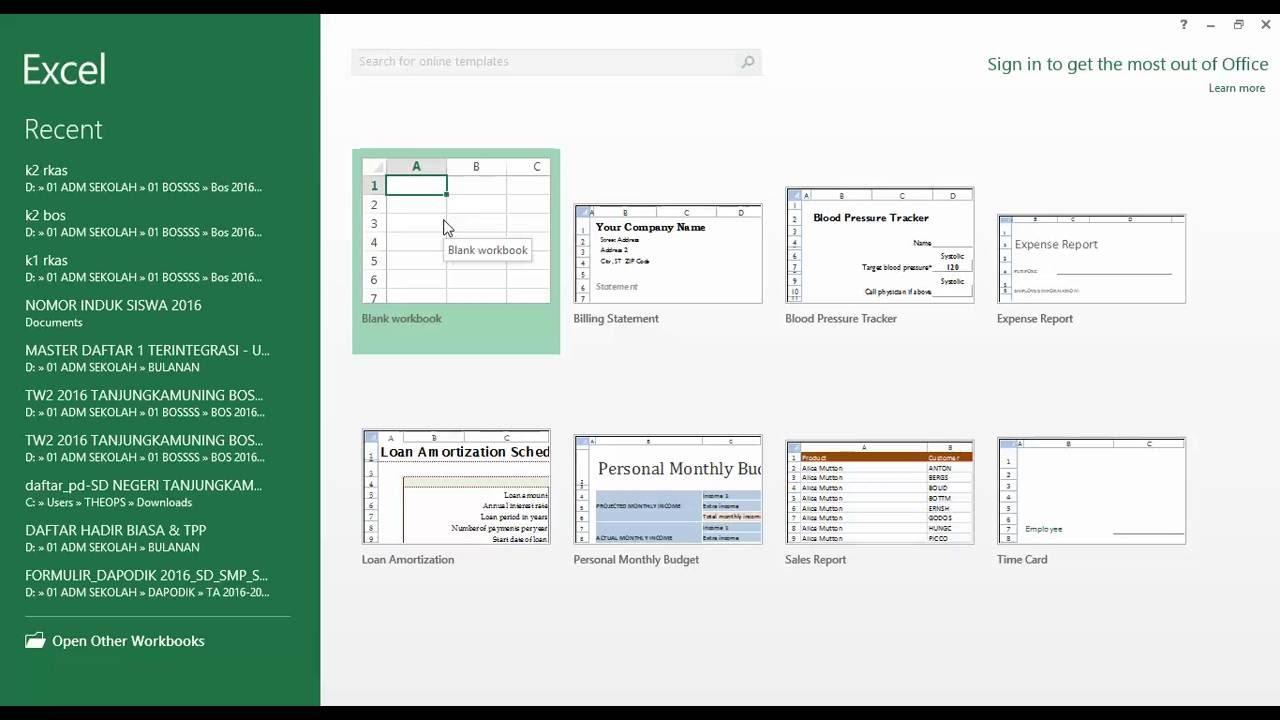 Video Tutorial Membuat File Excel Menggunakan Ukuran Kertas F4 Youtube