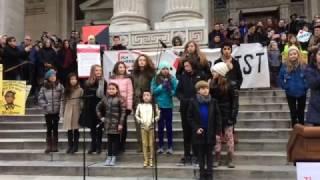 Broadway Kids at Writers Resist
