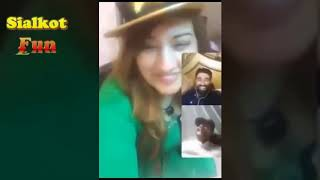 Sitara Baig Big Boob Actress Talking Facebook Bigo Live YouTube