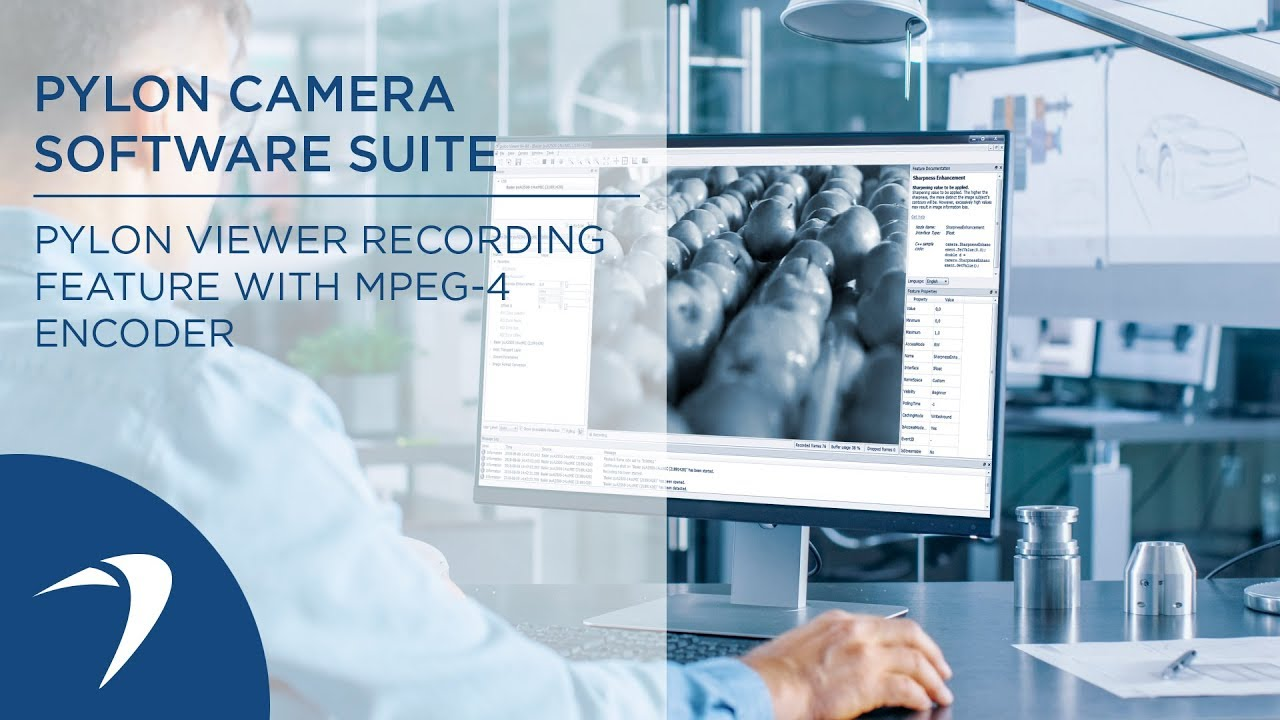 pylon Camera Software Suite: pylon Viewer recording feature with MPEG-4  encoder