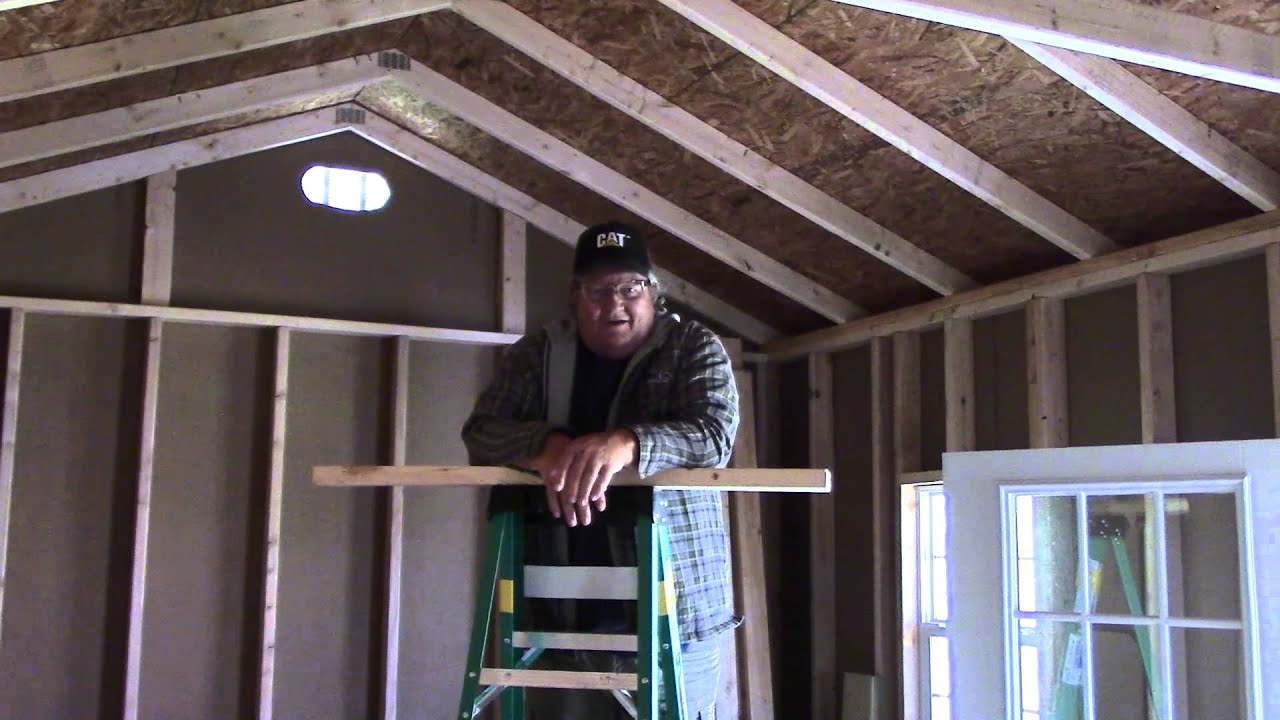 Discussing Collar Ties For The Tiny House Roof Rafters