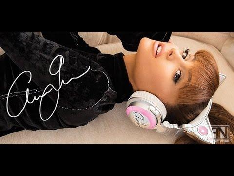 Ariana Grande Cat Ear Headphones Brookstone Unboxing/Review!!