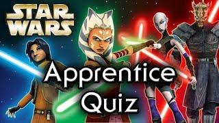 Find out YOUR Star Wars APPRENTICE! - Star Wars Quiz
