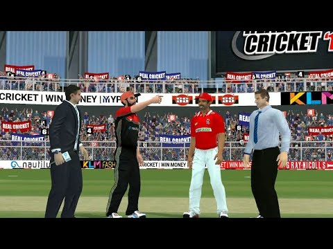 13th April IPL 11 Royal Challengers Bangalore V Kings XI Punjab real cricket 2018 mobile Gameplay