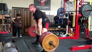 Становая тяга с медленным опусканием - 300 кг