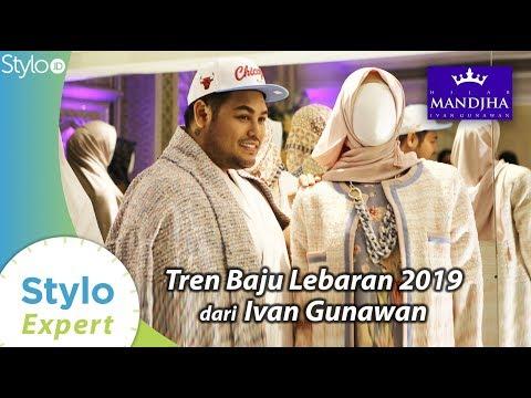 Tren Baju Muslim Untuk Lebaran Ramadan 2019, Model Koleksi Mandjha Hijab By Ivan Gunawan