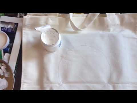 DIY Tote Bag | Acrylic Painting