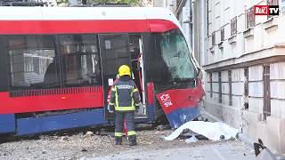 Nesreća u Resavskoj ulici. TRAMVAJ Izleteo iz šina