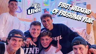 first weekend at college vlog (freshman year)