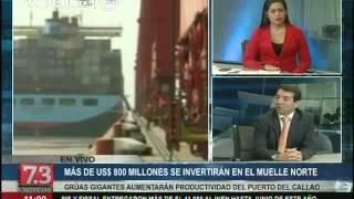 Puerto del Callao ya puede recibir a buques más grandes del mundo
