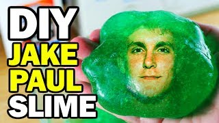 DIY Jake Paul Slime - Man Vs Slime #1