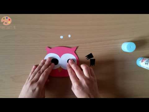 Making An Owl From Paper