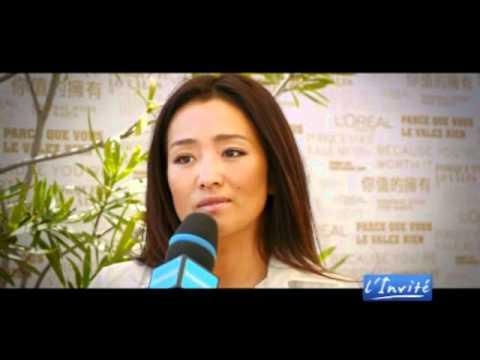 """Gong Li : """"Je suis une ambassadrice de la Chine"""""""