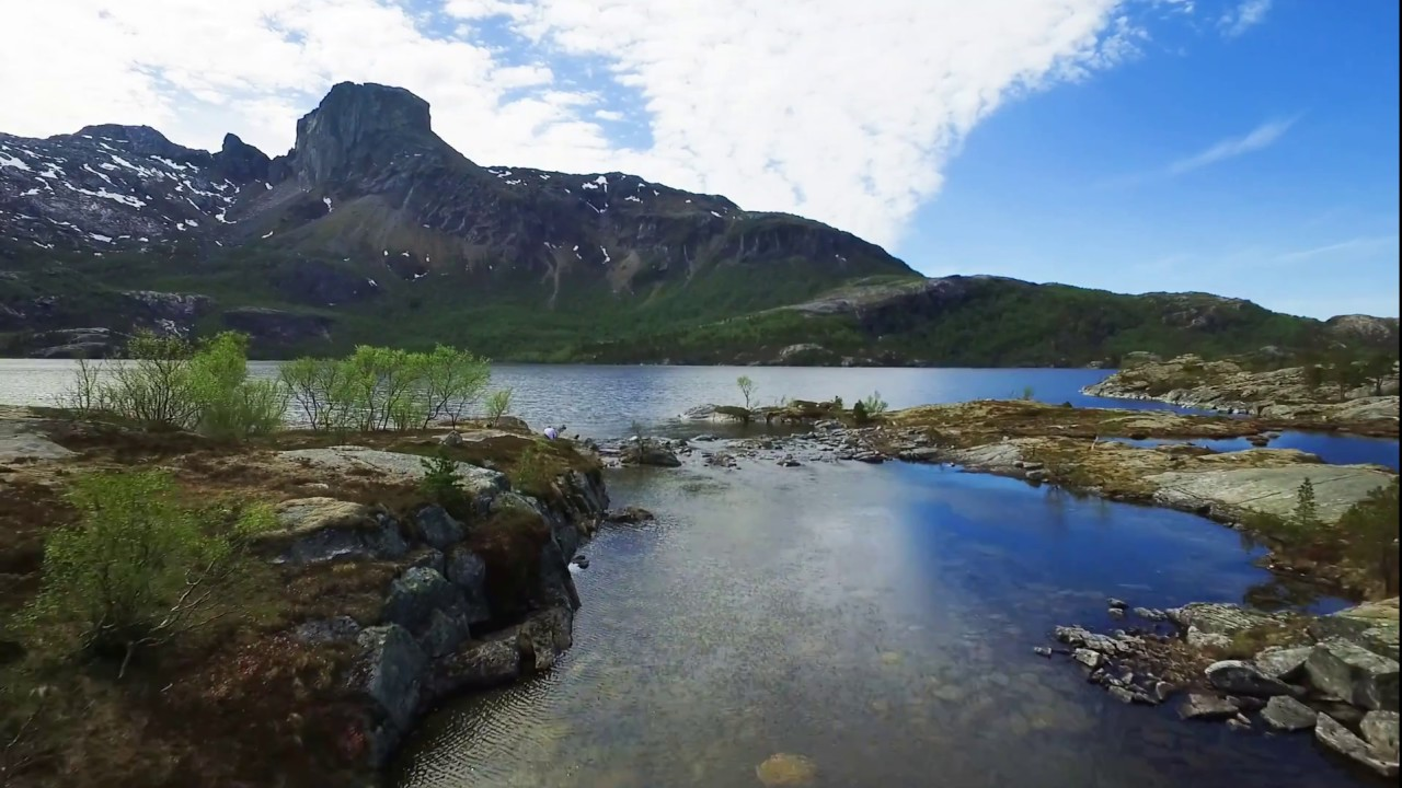 Steigtindvatnet lake in Bodø