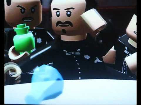 LEGO - Casino Royale using Indy Jones Cutscenes