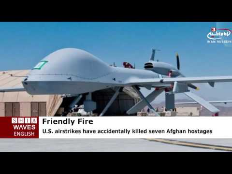 US Airstrikes AccidentallyKill Afghan Hostages .2016/06/29
