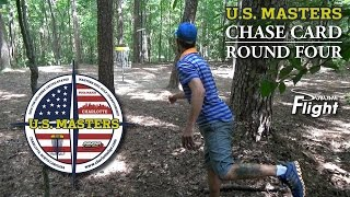 US Masters 2015 Bradford Chase Card Round 4 Tim Selinske Disc Golf Tournament