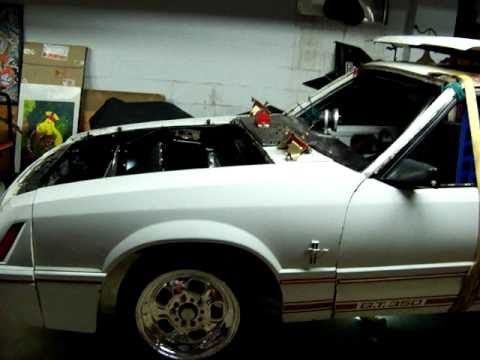 1984 Mustang Gt350 Twin Turbo Quot Pro Street Quot Youtube