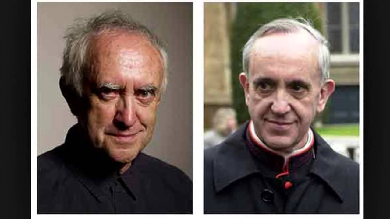 Pope Francis is really actor Jonathan Pryce?? I dunno.