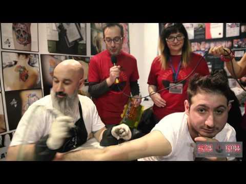 Alle Tattoo - Intervista al Tattoo Expo 2016 di Bologna