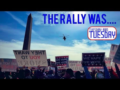 TBT 11/12/19 - The DC Vape Rally Was.... Awesome, Powerful / How I Became A Patriot