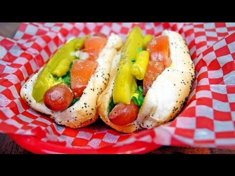 How to build a Chicago Style Hot Dog (Chicago Hot Dog Recipe)